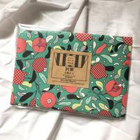 ポストカードが入る封筒【ザクロ】/akky