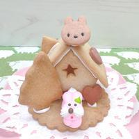 うさちゃんハウス 組み立てセット【神奈川新聞掲載】