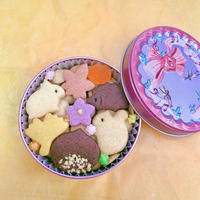 ★期間限定★秋のクッキー缶(ハミング缶)
