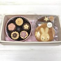 ドリームセット  【お花のクッキー缶】