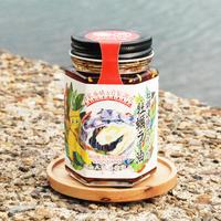 【40%OFF 9/25賞味期限】牡蠣漁師が作った牡蠣ラー油3本セット