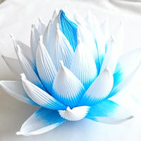 [04]ハス 青色青光(しょうしきしょうこう)淡色