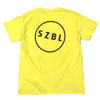 S Z B L POCKET TEE( NEON YELLOW×BLACK )