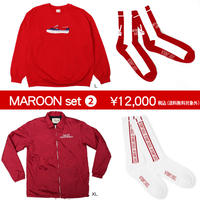 【Value Sets】MAROONセット2(1セット限定! )