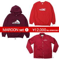 【Value Sets】MAROONセット1(1セット限定! )