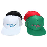 【BOOGIEBAC ロゴ Embroidery CAP】
