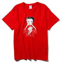 BETTY BOOP/OKINAWAMADE™コラボTシャツ(レッド)