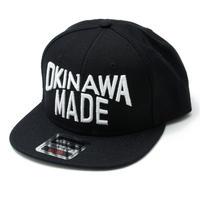 OKINAWAMADE™スナップバックキャップ(ブラック)