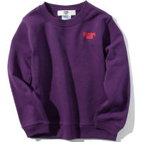 OKINAWAMADEスウェットシャツ(パープル)  キッズサイズ