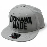 OKINAWAMADE™スナップバックキャップ(グレー)