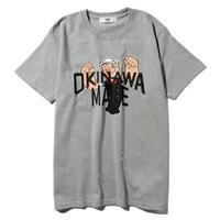 POPEYE/OKINAWAMADE™コラボTシャツ(グレー)