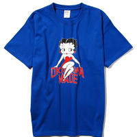 BETTY BOOP/OKINAWAMADE™コラボTシャツ(ブルー)