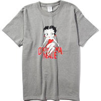 BETTY BOOP/OKINAWAMADE™コラボTシャツ(グレー)