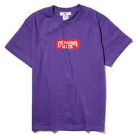 OKINAWAMADE™ボックスロゴTシャツ(パープル)