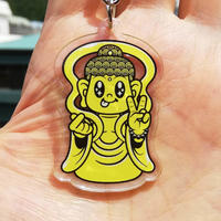 """""""Love and Peace Buddha"""" アクリルキーチェーン"""