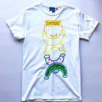 """mukuri  handmade T-shirt """"ZATSUGI"""""""