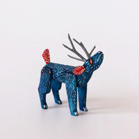 """Oaxaca Wood carving """"Deer"""""""
