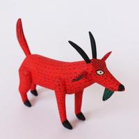 """Oaxaca Wood carving """"Red  Deer"""""""