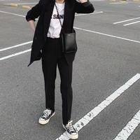 【10月初旬〜中旬入荷予定】blackセットアップスーツ