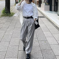 【6月中旬〜下旬入荷予定】ライトグレースラックス(S,M,L)