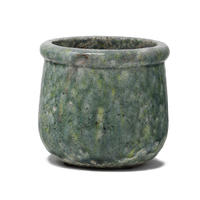 Pacific blue ceramic round pot M 663287