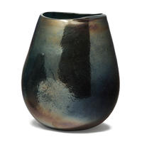 Empire grey glass round vase L 675417