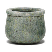 Pacific Blue ceramic round pot S 677941