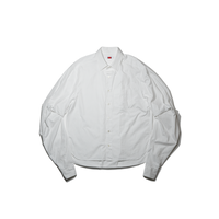 by H. / SLEEVE TUCK SHIRT