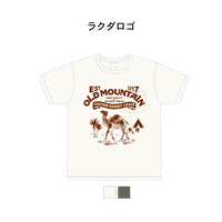 OLDMOUNTAINオリジナルポケットTシャツ ラクダロゴ