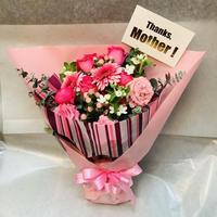 【母の日限定!】生花の花束~pink~
