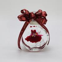 tutu dress ハーバリウム【dark red】