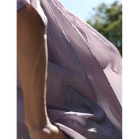 Washed Nylon Sheer S/S Shirt (PURPLE)