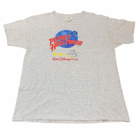 90's USA製 PLANET HOLLYWOOD Disney size L