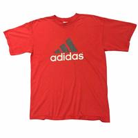 90's USA製 ADIDAS ロゴTシャツ