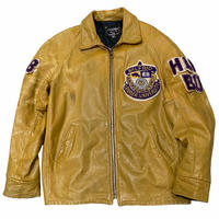 70's WILFRID LAURIER UNVERSITY LEATHER JACKET