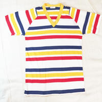 border  Vneck t-shirt