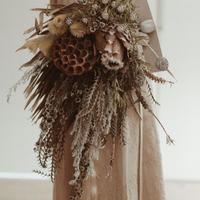 wedding bouquet アンティックサファリ