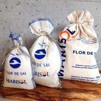 海塩フロールデサルFlor de sal  袋入り100g