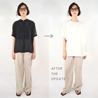【Updateable  shirt #3】  ※衿加工注文