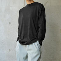 Long sleeve tee <Black>