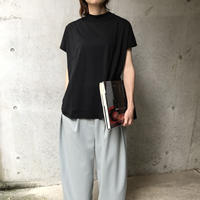 French sleeve tee <Black>