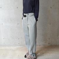 Signature trousers【オンラインストア限定】