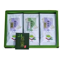 近江の茶園(朝宮茶・鈴鹿・志賀香り)詰め合わせ                       100g×3袋