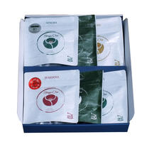 ShigaChaティーバッグアラカルト 6袋 (玉露2・オーガニック茶2・フレーバーティ2)セット