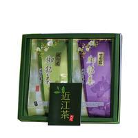 近江茶(池の尾・雁がね)詰め合わせ                           煎茶200g・雁がね150g