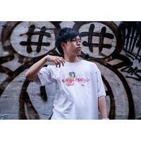 【受注生産】ありまつ×Prefabric ありりんTシャツ(白ピンク/ブルー&黒ピンク/ブルー)【予約期間 8月16日まで→発送8月下旬】