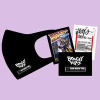 【受注生産】#ぶぎぼのぬの02 Mask & 3 Stickers Set【予約期間8月5日まで→発送8月下旬以降】