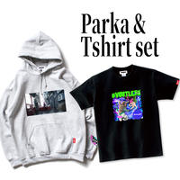 【受注生産】BOOGEY VOXX×Prefabric #VOOTLEXX Parka&T-Shirt set【予約期間 10月31日まで→発送11月中旬】
