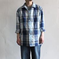 OMNIGOD_綿麻チェックボックスシャツ1mens/【56-0337X】