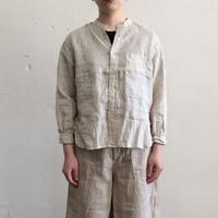 OMNIGOD_リネンスタンドカラーシャツwomen/【56-0914X】